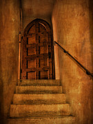 Popes Acrylic Prints - Staircase to the Doorway Acrylic Print by Bob Coates