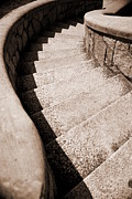 Floyd Menezes Framed Prints - Stairs At Maymont Framed Print by Floyd Menezes
