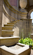 Palace Of Fine Arts Prints - Stairs at Palace of Fine Arts Print by David Bearden