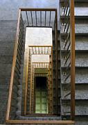 Stairs Print by Ausra Paulauskaite