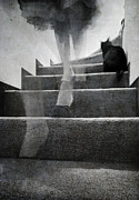 Ghost Photo Posters - Stairs Poster by Laura Melis