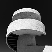 Shapes Photo Prints - Stairs to Nowhere Print by David Bowman