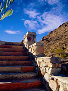 Stone Steps Framed Prints - Stairway To Framed Print by Glenn McCarthy Art and Photography