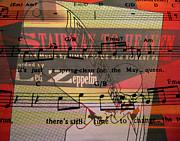 Stairway To Heaven Print by Patricia Januszkiewicz