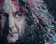 Robert Plant Painting Framed Prints - Stairway To Heaven Framed Print by Paul Lovering
