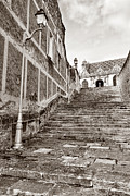 Religious Photo Prints - Stairway to Salvation  Print by Olivier Le Queinec