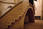 True Cross Metal Prints - Stairway to the Hidden Altar Metal Print by Lorraine Devon Wilke