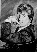 Stallone Paintings - Stallone by Karen Barton