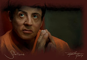 Stallone Print by Mark Gallegos