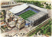 Chelsea Football Posters - Stamford Bridge - Chelsea Poster by Kevin Fletcher