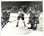 Hockey Photos - Stan Mikita in action by Sanely Great