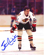 Hockey Photos - Stan Mikita Poster by Sanely Great
