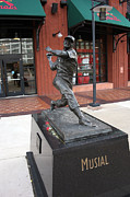 Stan Musial Art - Stan-the-man Musial by Al Blount