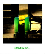 Two By Two Framed Prints - Stand by Me... Framed Print by Susanne Van Hulst