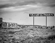 Trading Post Framed Prints - Standard Oil Cow Springs Arizona Framed Print by Troy Montemayor