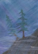 Robert Meszaros Paintings - Standing Alone by Robert Meszaros