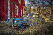 Old Car Door Photos - Standing In The Shadows by Erik Brede