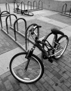 Bicycle Photos - Standing Lying Down by Joe Kozlowski