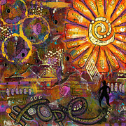 Joy Mixed Media - Standing on HOPE by Angela L Walker