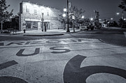 Route66 Prints - Standing On The Corner Print by Gray Kinney