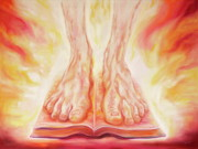 Prophetic Paintings - Standing on The Promises by Jeanette Sthamann
