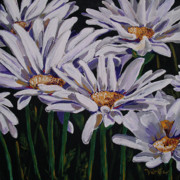 Daisies Mixed Media - Standing Ovation by Vickie Warner