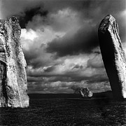 Mark Preston Metal Prints - Standing Stones Avebury Metal Print by Mark Preston