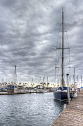 Docked Sailboat Prints - Standing Tall Print by Heidi Smith