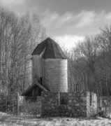 White Barns Prints - Standing Today  Print by Thomas Young