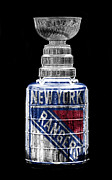 New York Rangers Prints - Stanley Cup 4 Print by Andrew Fare