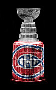 Montreal Hockey Prints - Stanley Cup 7 Print by Andrew Fare