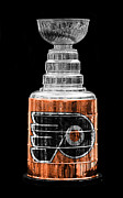 Philadelphia Flyers Prints - Stanley Cup 9 Print by Andrew Fare