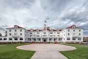 Colorado Flag Photos - Stanley Hotel Estes Park by Kay Pickens