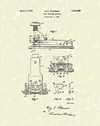 Device Drawings Framed Prints - Stapler 1932 Patent Art Framed Print by Prior Art Design