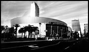 Los Angeles Clippers Prints - Staples Center Print by Panfilo Salva