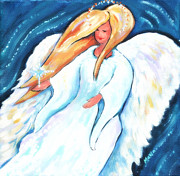 Arkansas Paintings - Star Angel by Marla Hoover