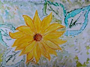 All-star Paintings - Star Flower by Sonali Gangane