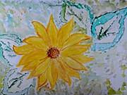 Star Flower Print by Sonali Gangane