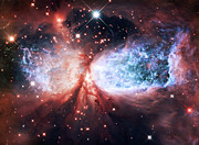 Hubble Telescope Photos - Star Gazer by The  Vault