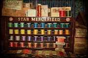 Star Mercerized Thread Display Print by Janice Rae Pariza