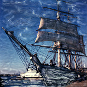Surf Photos Art Originals - Star of India Ghost Ship by Glenn McNary