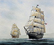 Star-ship Paintings - Star of India by James Williamson
