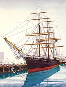 Star-ship Paintings - Star  Of India by John YATO