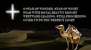 Desert Digital Art Originals - Star of Wonder by Garry Staranchuk