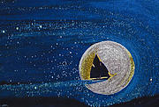 Star Sailing By Jrr Print by First Star Art