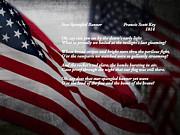 Star Spangled Banner  Print by Ella Kaye