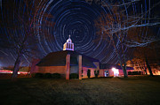 Robert Loe - Star Trails at Church