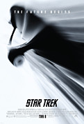 Trek Posters - Star Trek Poster by Sanely Great