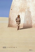 Skywalker Framed Prints - Star Wars Episode One Poster Framed Print by Sanely Great