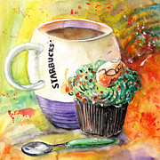 Miki De Goodaboom - Starbucks Mug and Easter...